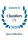ranked in chambers 2020 janes solicitors